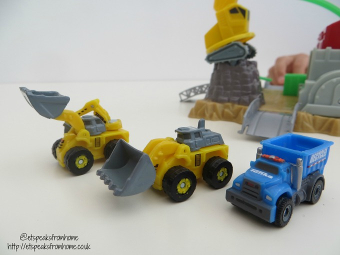 Tonka Tinys Mini Playset Review truck