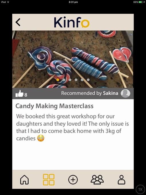 kinfo candy masterclass