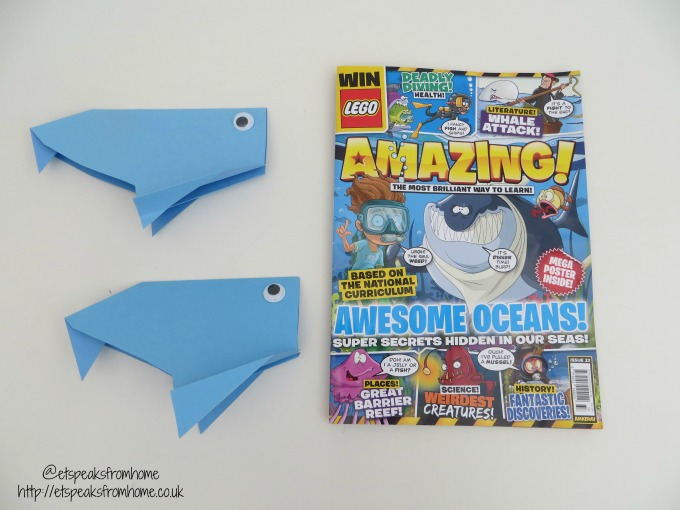 paper whale craft - amazing magazine