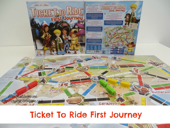 ticket to ride first journey European Edition