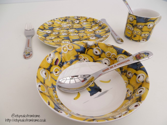 Despicable Me 3 Arthur Price mug, plate n bowl