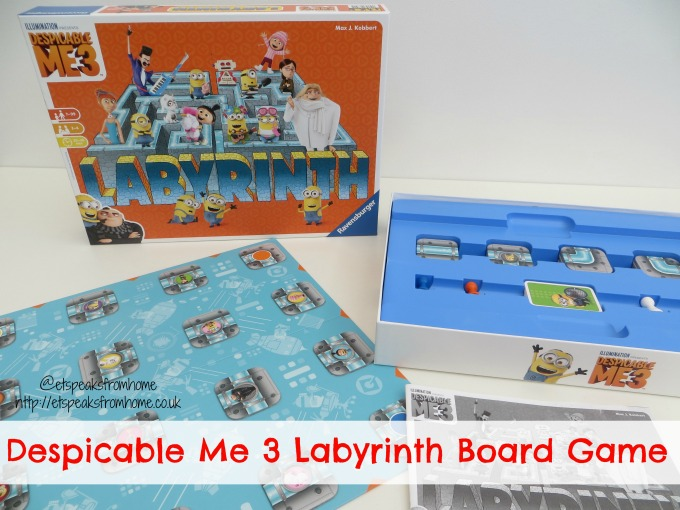 Despicable Me 3 Labyrinth Game Review