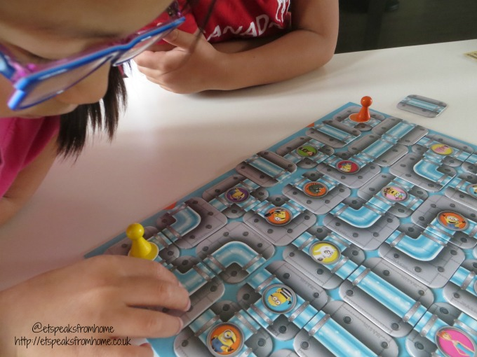 Despicable Me 3 Labyrinth Game board
