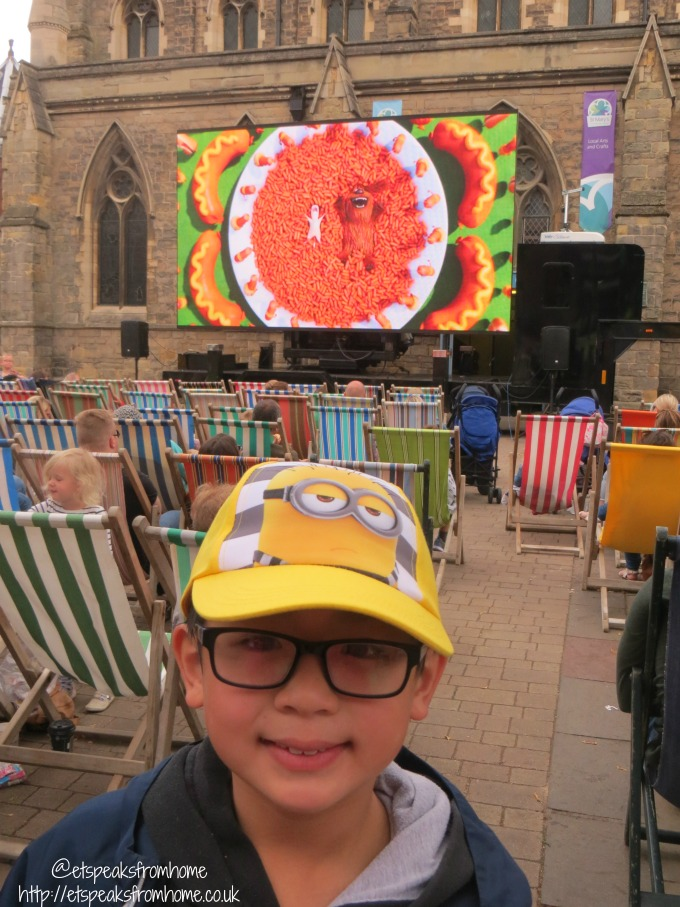 Despicable Me 3 festival pack review lichfield food festive