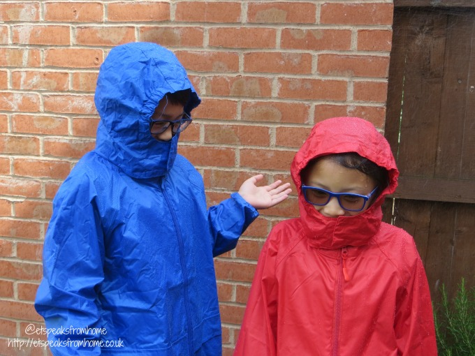 dry kids waterproof jacket wet