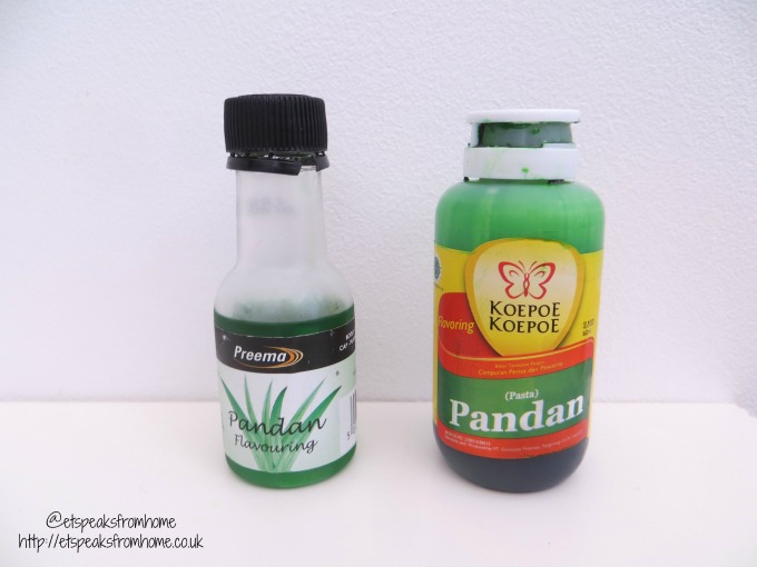 pandan paste & flavour