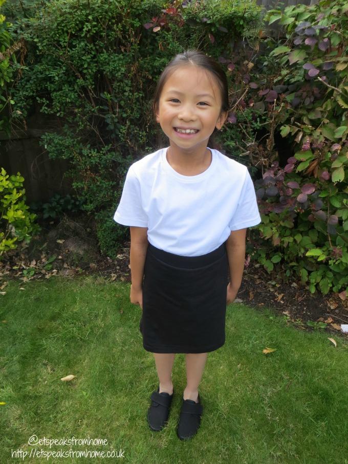 schoolwear by nutmeg at morrisons PE girl