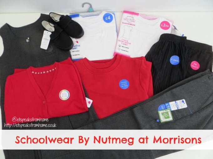 schoolwear by nutmeg at morrisons review