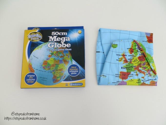 Brainstorm Toys Mega Globe in box