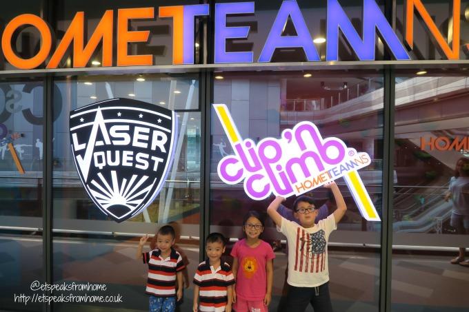Clip n Climb at Tampines Hub HomeTeamNS review
