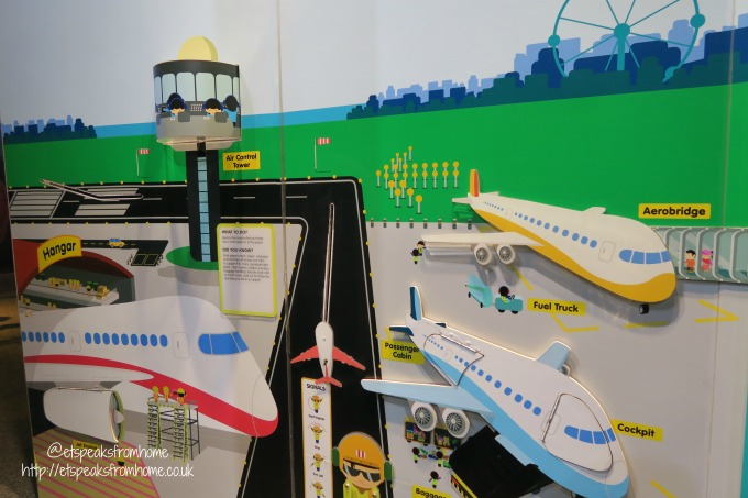 Kids Stop Singapore Review plane