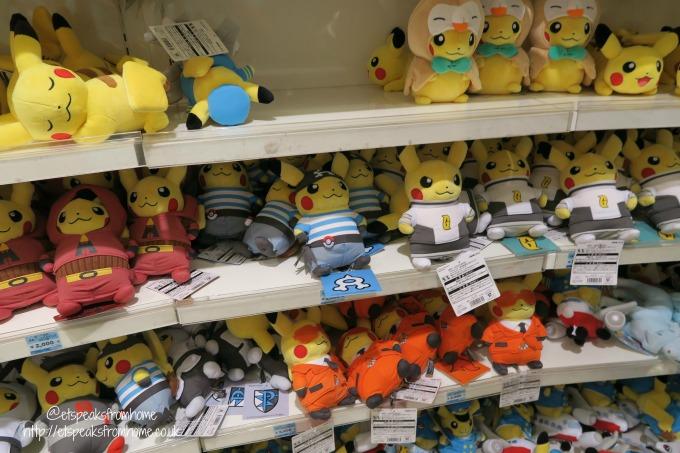 Pokémon Center in Osaka soft toy