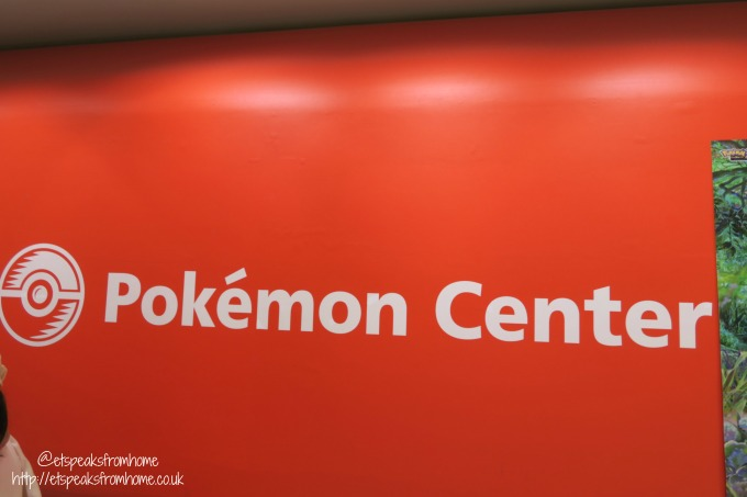 Pokémon Center in Osaka