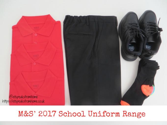 marks and spencer M&S 2017 school uniform range