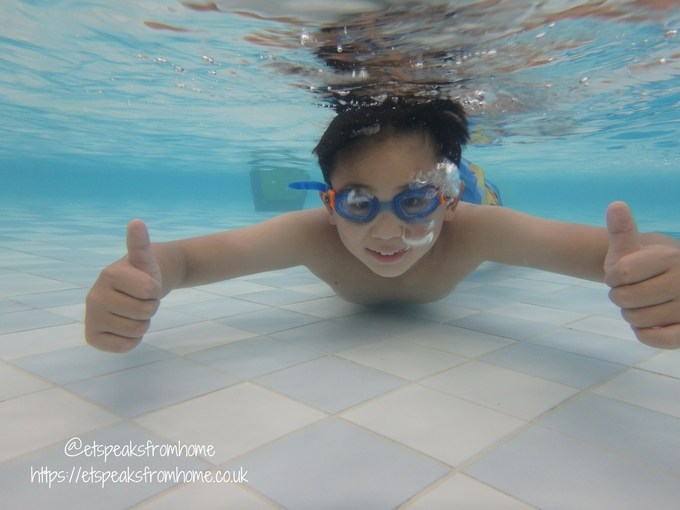 swimming ideal holiday