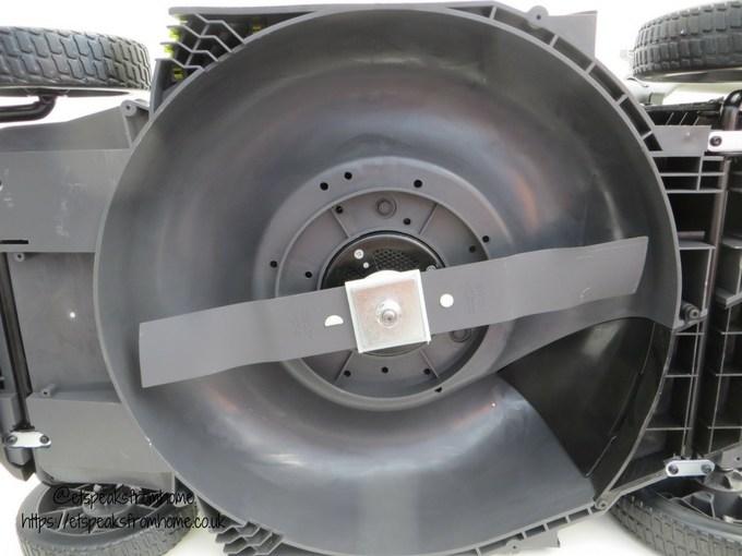 Ryobi 36V fusion lawnmower blade