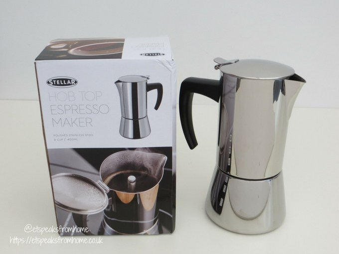 Stellar Coffee 6 Cup Espresso Maker review