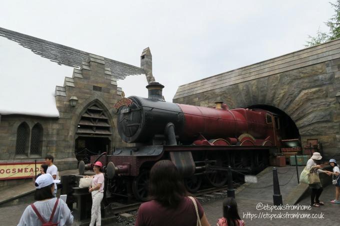 Universal Studios Osaka Harry potter train