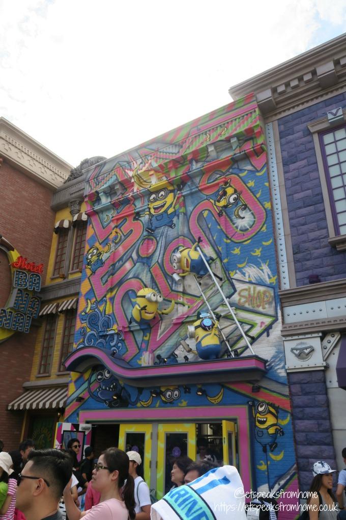 Universal Studios Osaka minion park deco