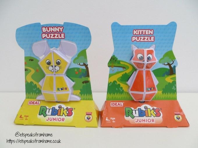 rubik's junior puzzle bunny kitten