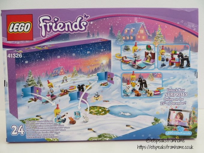 Lego friends advent calendar 2017 review