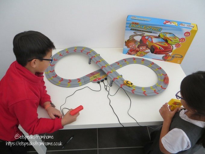 My First Scalextric review playing