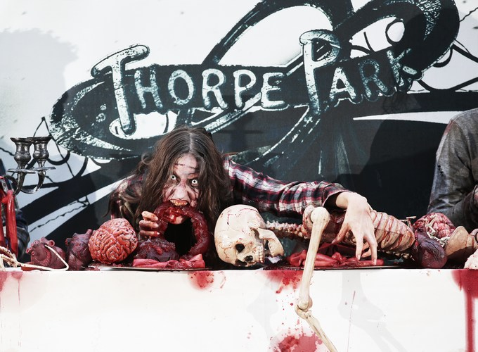 Walking Dead mazes open at Thorpe Park resort