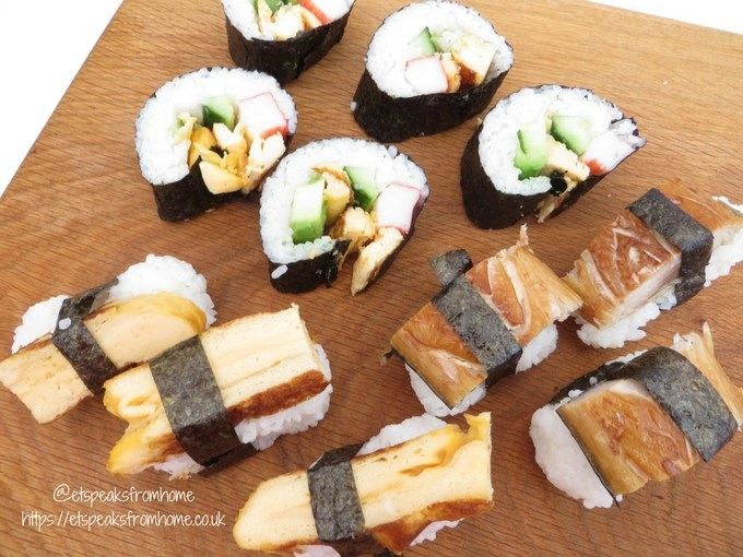 galleoneers monthly recipe - japan eats sushi