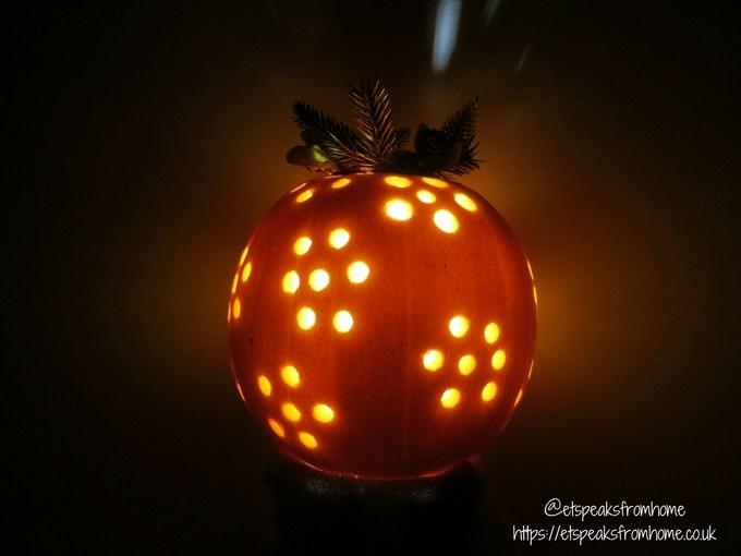 halloween pumpkin carving challenge - flower pumpkin