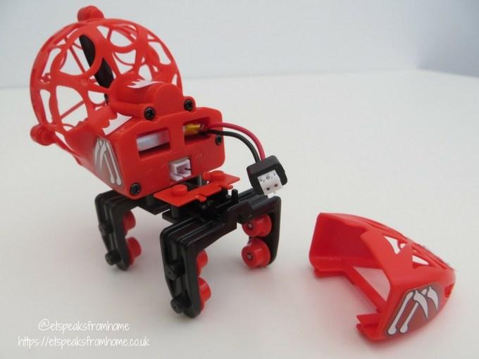 k'nex web weaver roller coaster charging