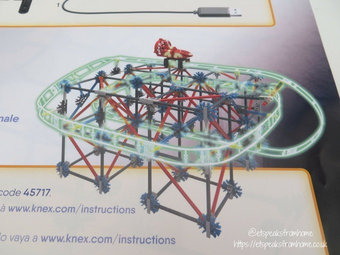 k'nex web weaver roller coaster instructions
