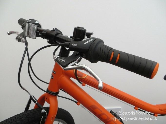 Carrera Abyss Junior Hybrid Bike brake