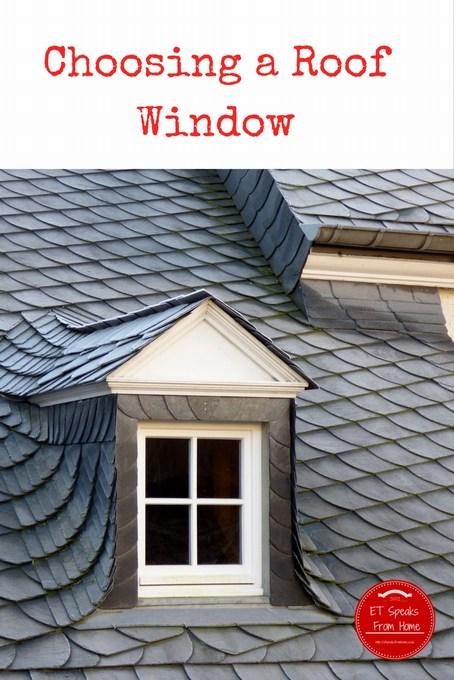 Choosing a Roof Window