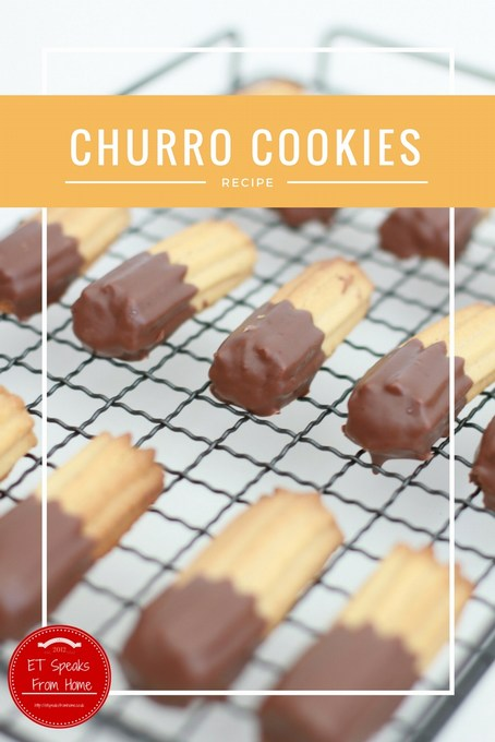Churro butter Cookies recipe