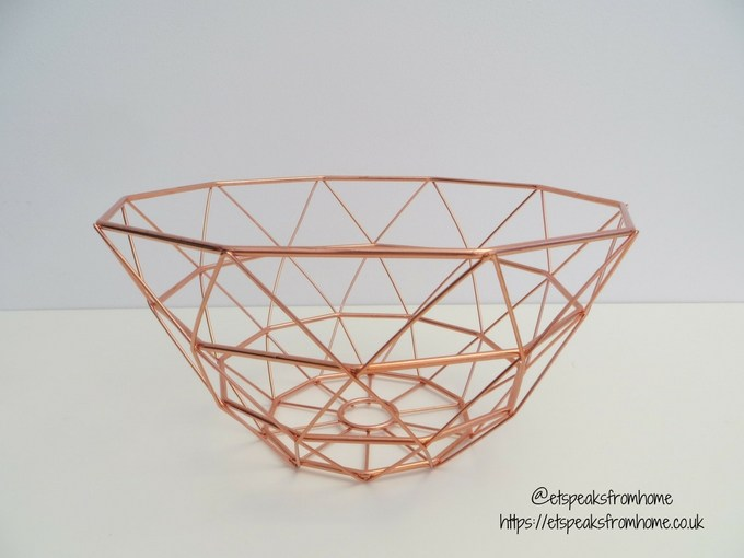 Copper Kitchenware at Red Candy tall basket