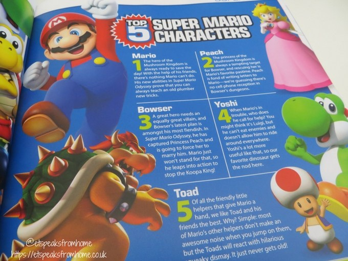 Scholastic Christmas Gift Guide game on 2018 super mario
