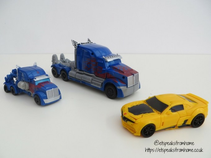 Transformers The Last Knight Turbo Changer Optimus Prime Bumblebee