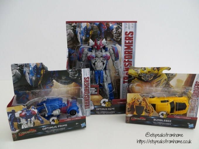 Transformers The Last Knight Turbo Changer review