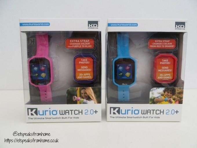 kurio watch 2.0 pink blue
