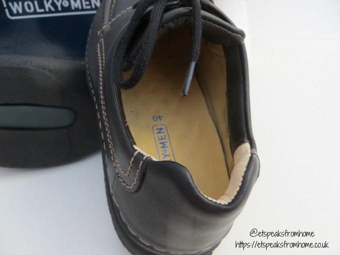 wolkyshop wolky shoe roll shoe black oiled leather inside