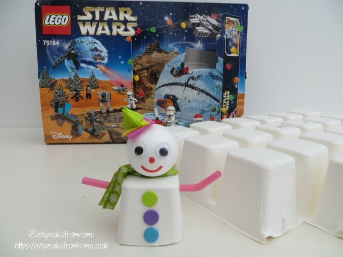 LEGO Sustainable Star Wars Advent Calendar snowman