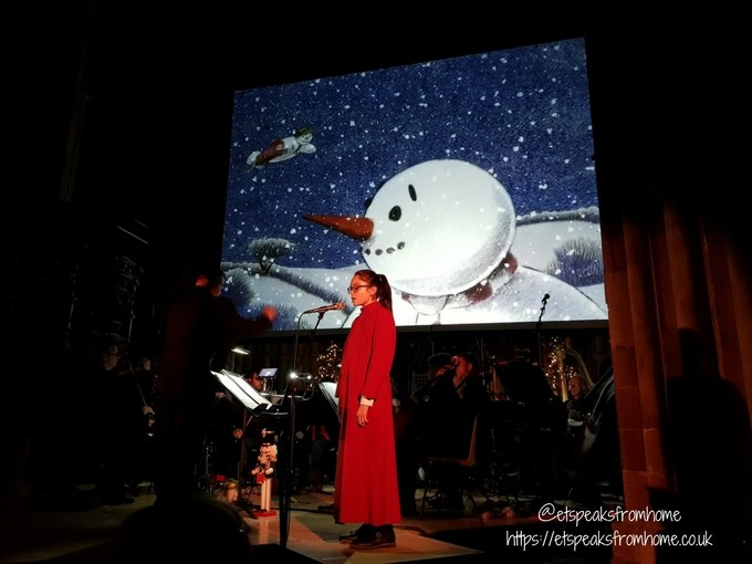 The Snowman Tour 2017 in Lichfield Cathedral sole