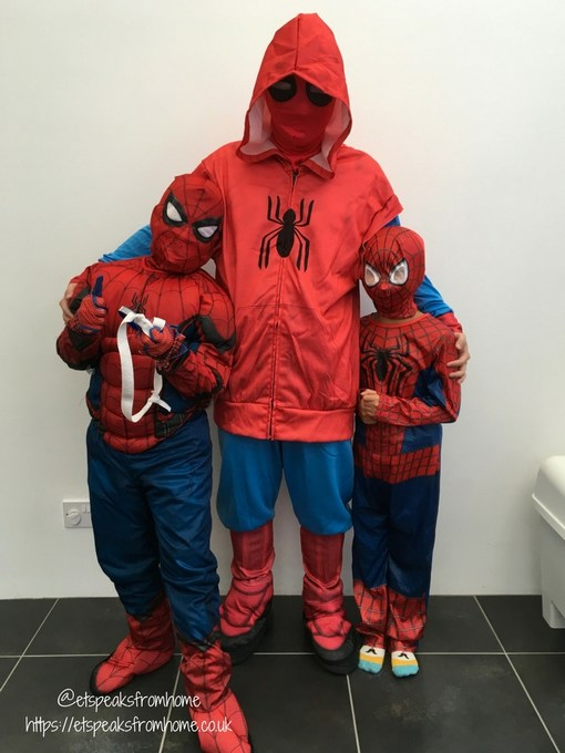 spider-man homecoming family