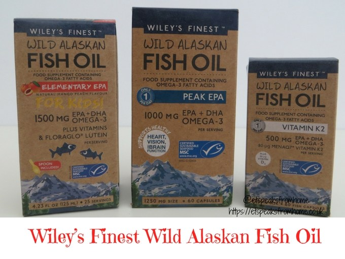Wiley's Finest Wild Alaskan Fish Oil review