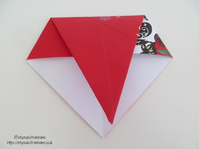 Ang Pow Origami Dog chinese new year 2018 step 2