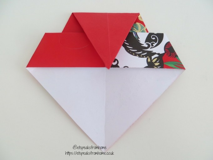 Ang Pow Origami Dog chinese new year 2018 step 5