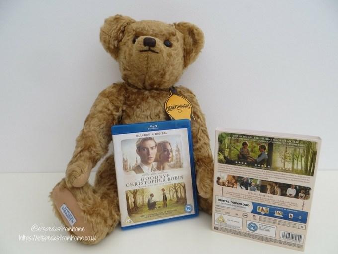 Goodbye Christopher Robin merrythought teddy bear