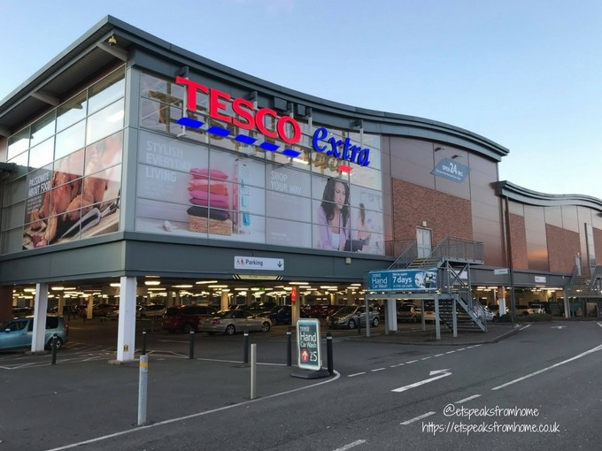 Supermarket Fashion Shop for tesco