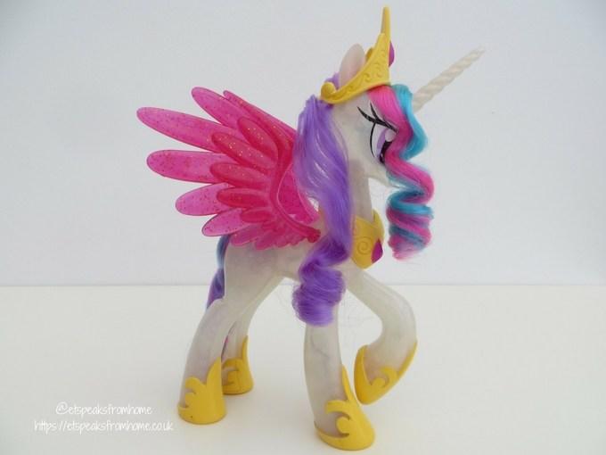 my little pony glitter and Glow Princess Celestia