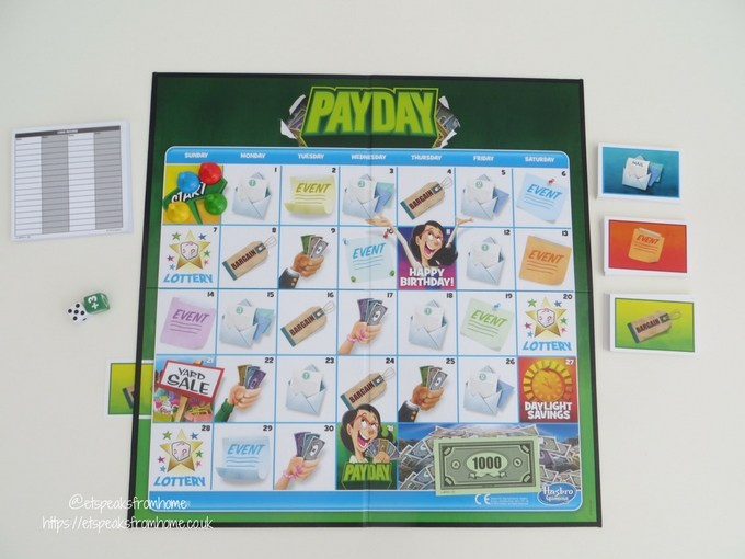 payday game board